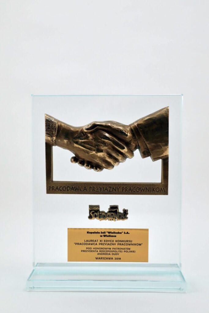 Obrazek artykułu Pracodawca przyjazny pracownikom statuetka