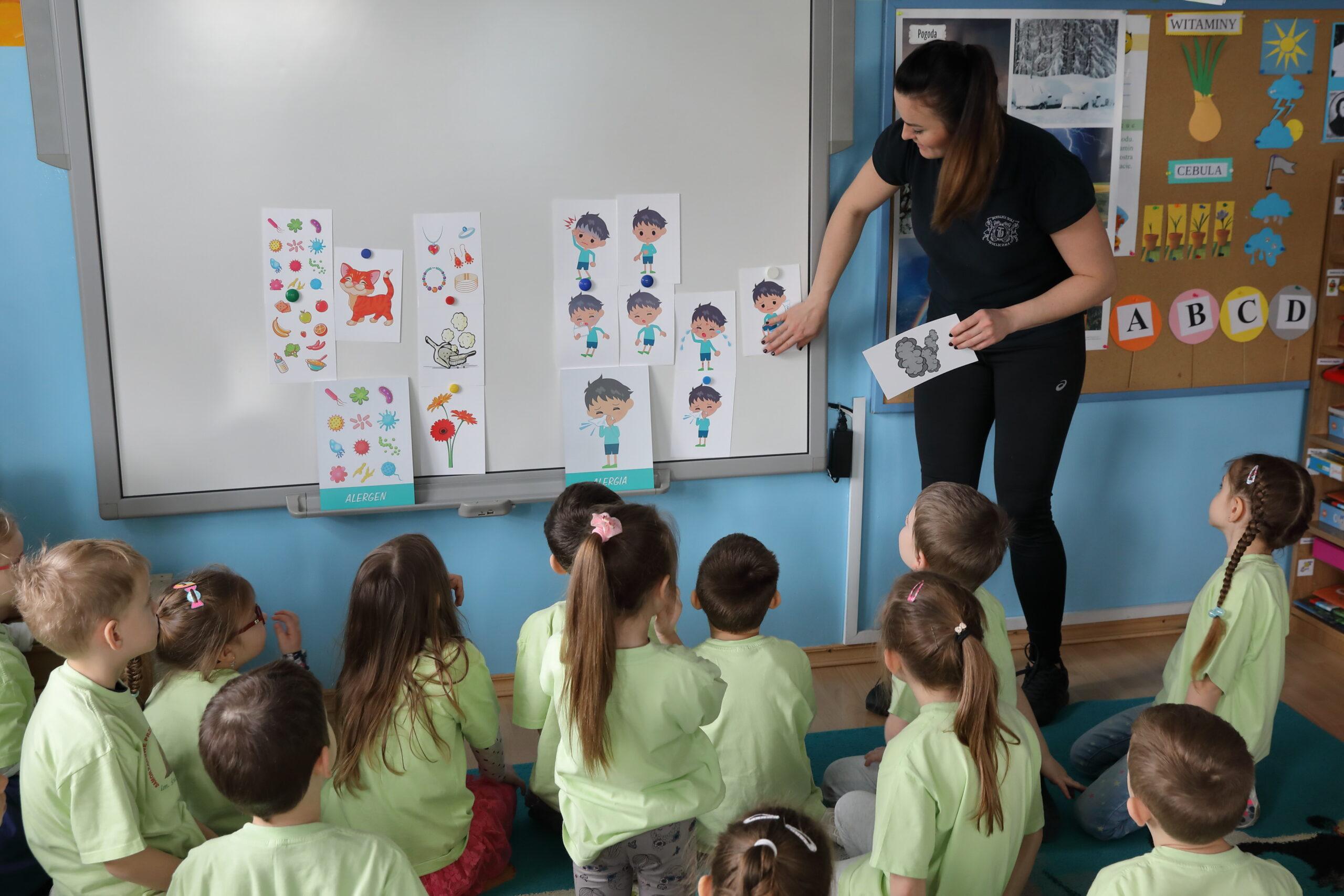 Przedszkole Podłęże zdrowie na 5 plus