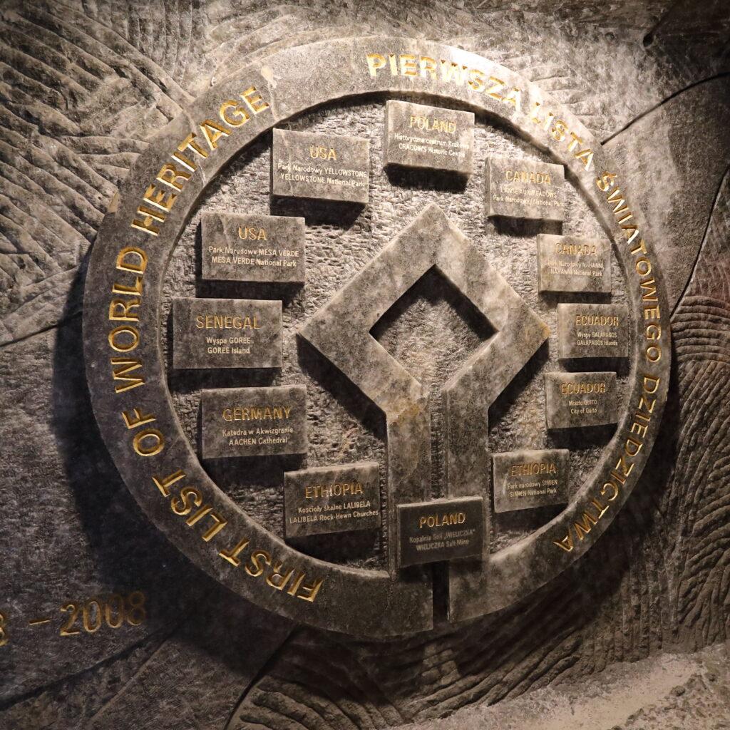 kopalnia soli pierwsza lista światowego dziedzictwa