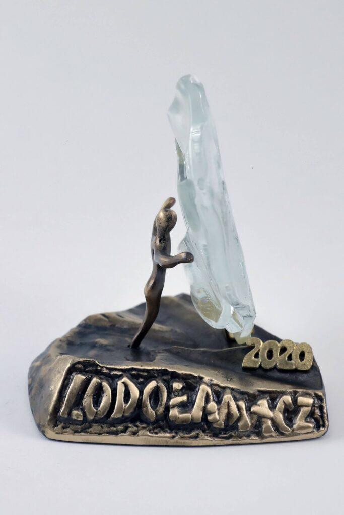 Lodolamacz 2020 regionalny i krajowy statuetka