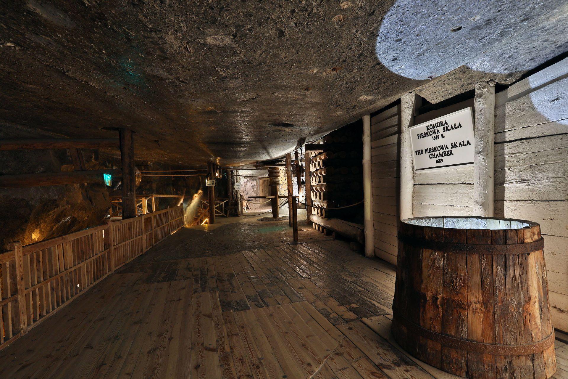 Trasa Turystyczna kopalnia Soli Wieliczka