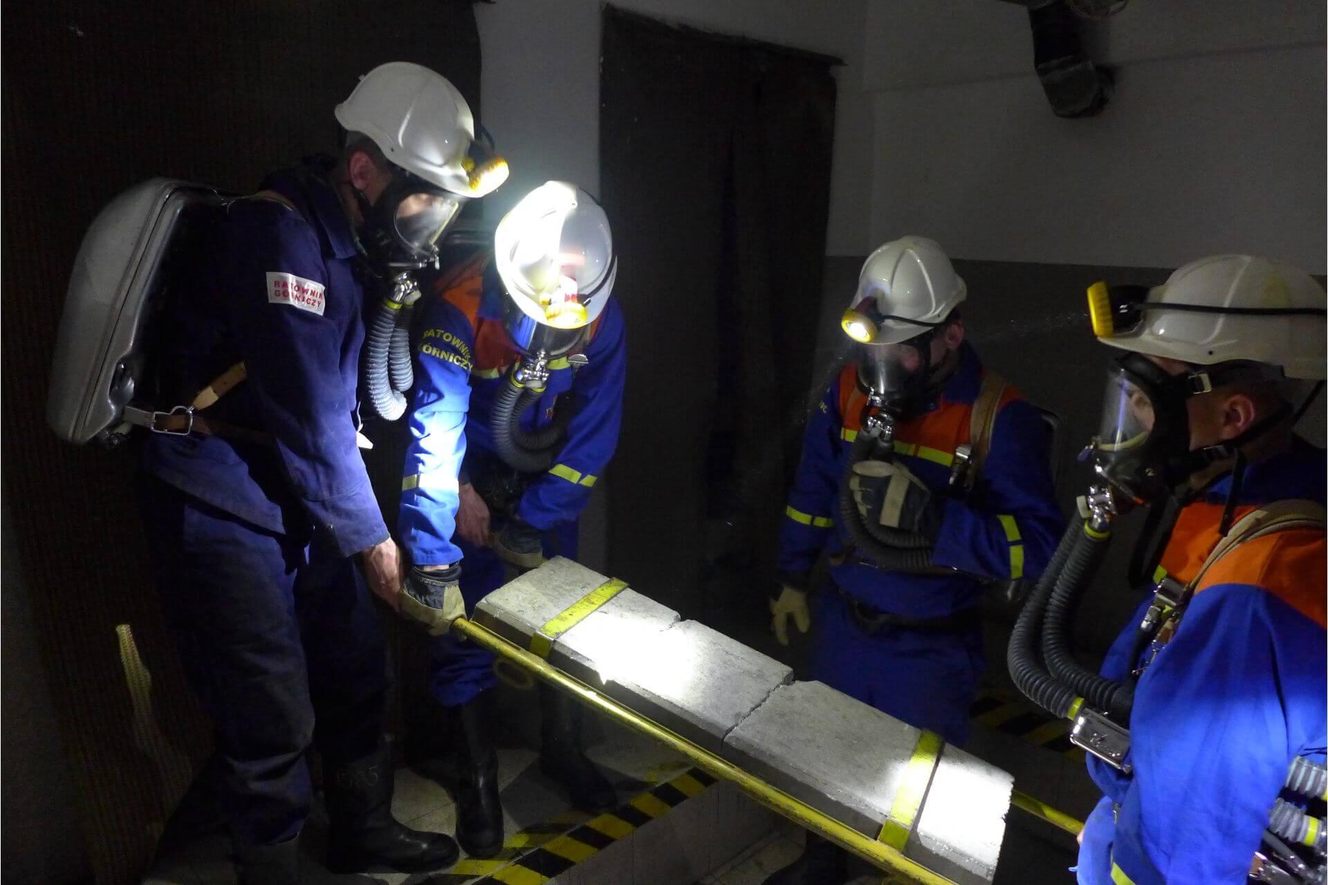 ćwiczenia ratowników wyjazdowe