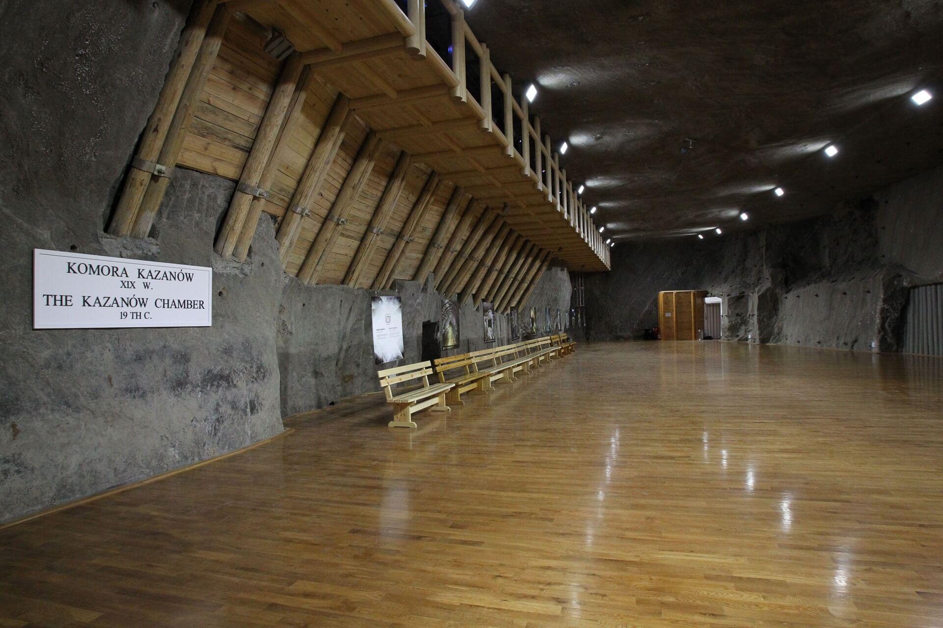 ekspozycja multimedialna w komorach Lill Górna i Kazanów
