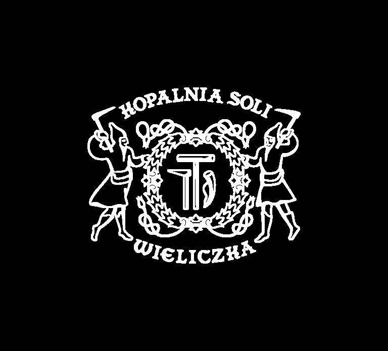 wieliczka logo białe