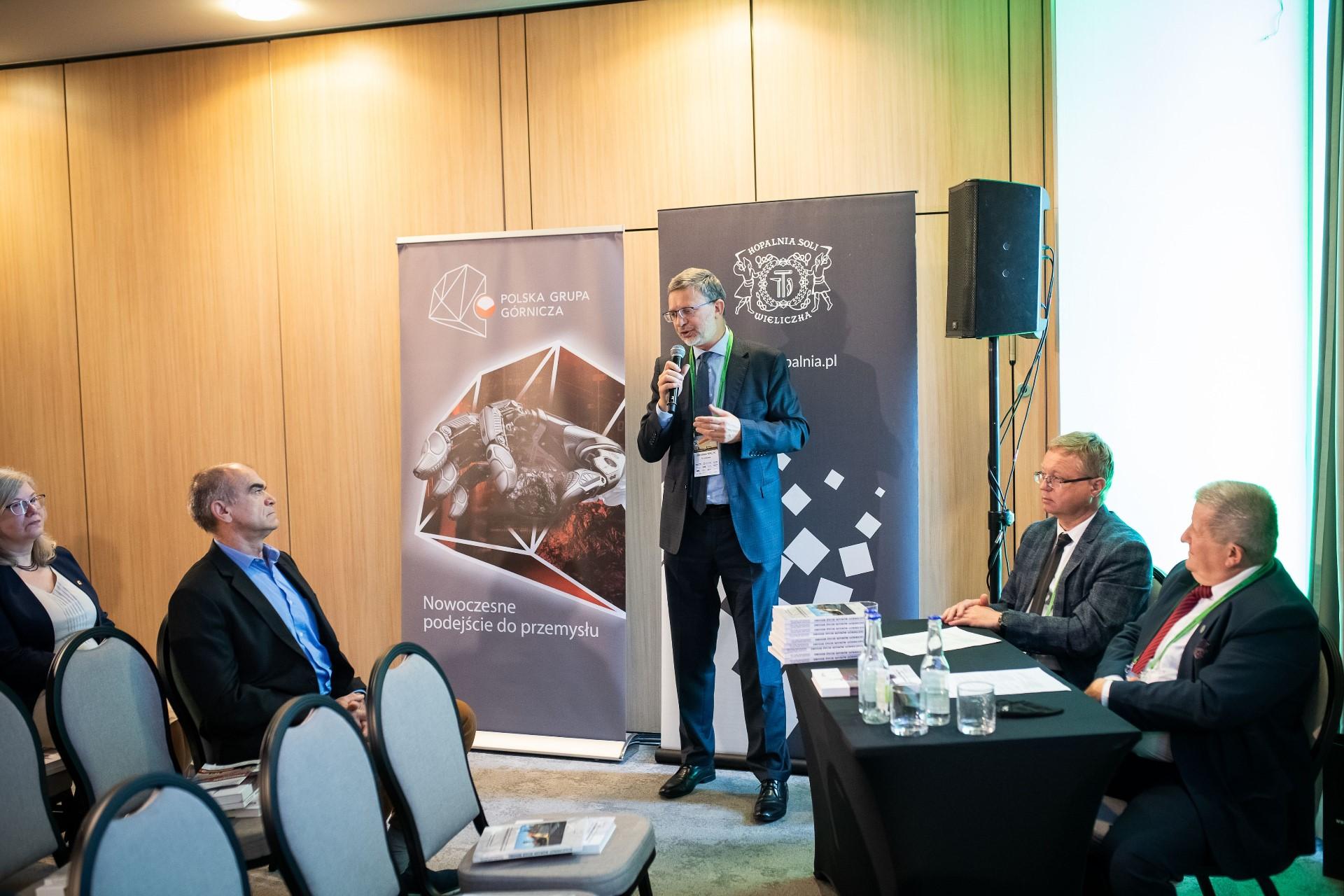Przemówienie na konferencji SEP Jarosław Malik